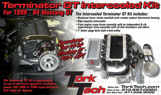 Mustang Supercharger Kits, GT | Tork Tech